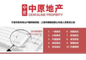 宁波市发布舟山户籍同城待遇;上海市限制或禁止失信人员参加土拍