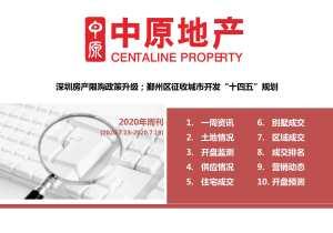 """深圳房产限购政策升级;鄞州区征收城市开发""""十四五""""规划"""