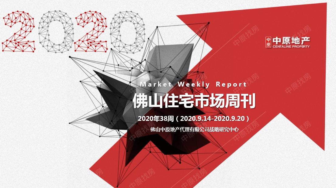 中原周报 | 2020年第38周佛山住宅市场周报