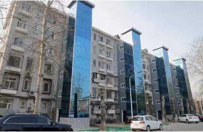 哈市首批大专院校及科研院所家属住宅加装电梯正式投用